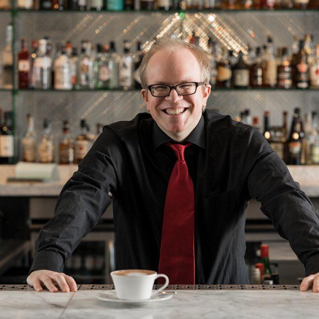 Photo of a barman